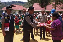 Satgas Binmas Noken Polri Papua Gelar Polisi Pi Ajar di Lanny Jaya