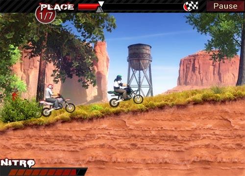 سباق الموتوسيكلات الترابية Dirt Bikes Super Racing
