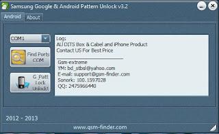 Samsung Google Lock Android Pattern Unlocker Tool