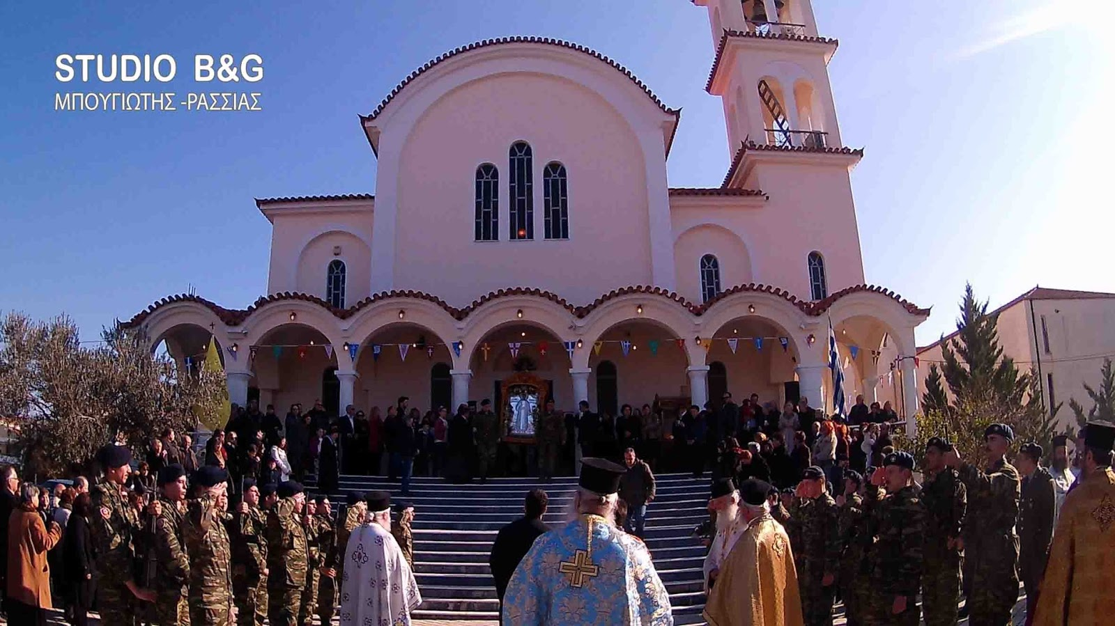Ο εορτασμός του πολιούχου του Ναυπλίου Αγίου Αναστασίου