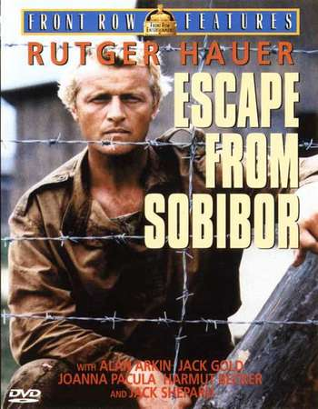 Poster Of Escape from Sobibor 1987 Hindi Dual Audio 450MB WEBRip 480p ESubs Free Download Watch Online downloadhub.in