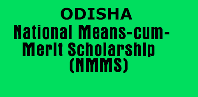 Odisha NMMS Scholarship 2018 apply date, exam date and result
