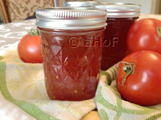 Spiced Tomato Jam