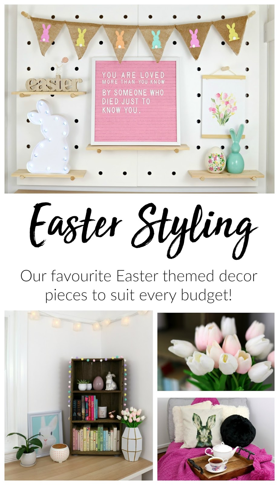 Southern In Law March Styling My Easter Home Decor