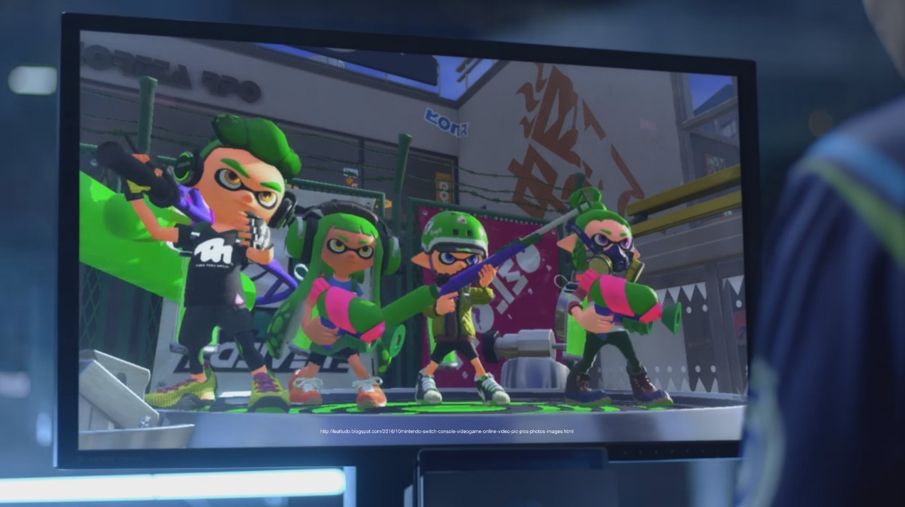 Nintendo Switch Videogame Console Trailer Video Online