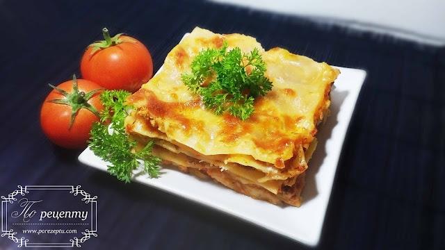 лазанья классическая рецепт с фото