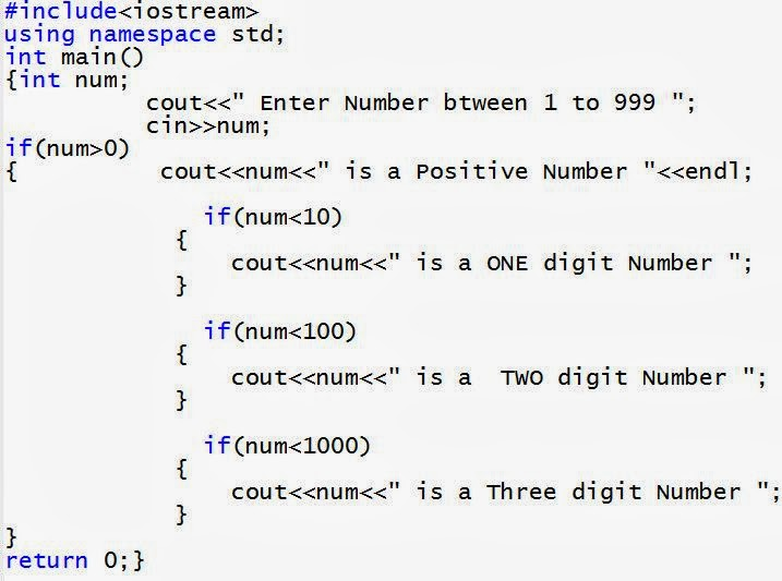 IF and Nested IF Statements in C++ ~ C++ Programming ...