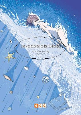 """Manga: Reseña de """"Haruko Ichikawa Omnibus núm 2: Las vacaciones de las 25 horas"""" - ECC Comics"""