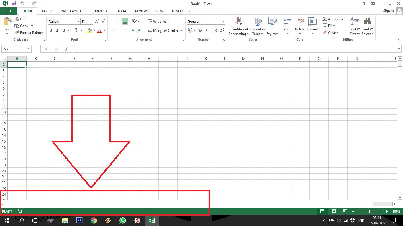 Cara Menampilkan Worksheet Excel Yang Disembunyikan