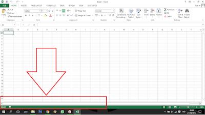 Cara Menampilkan Sheet Tab Excel yang Disembunyikan ...