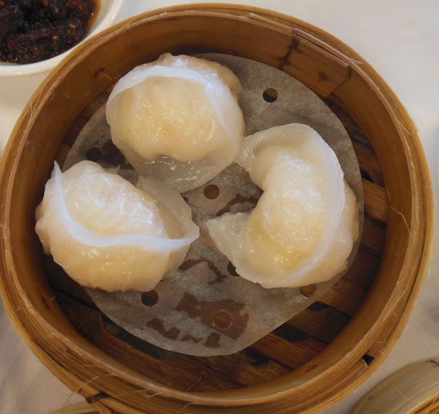 Gold Leaf, Docklands, prawn and scallop dumplings