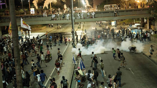 Protesta contra propuesta de límite de gastos de Temer en Brasil