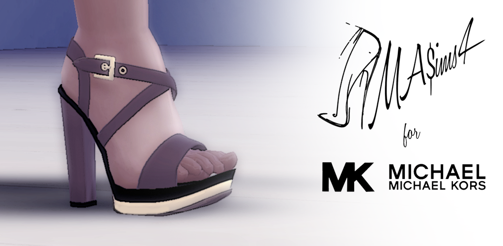 My Sims 4 Blog Michael Kors Sandals And Saint Laurent