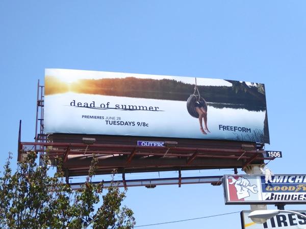 Dead of Summer TV series billboard