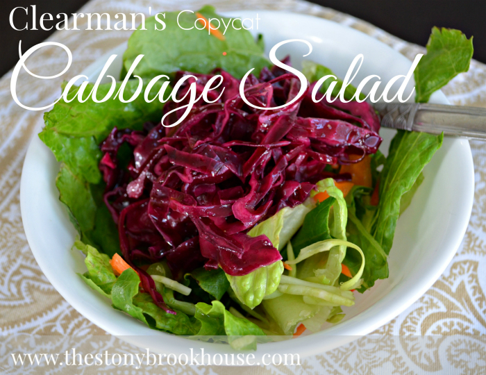 Clearman's Copycat Cabbage Salad