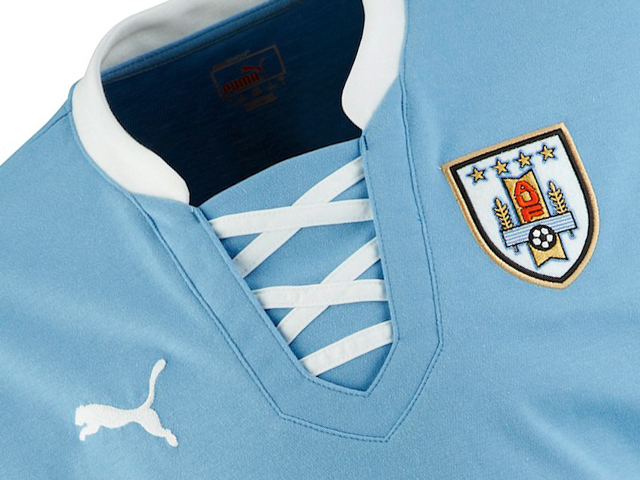 best cheap 5bcc1 229c4 Puma Introduces 2013 Fifa Confederations Cup Kit For Uruguay ...