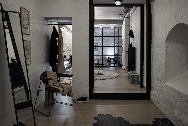 Fresh wonderful scandinavian apartment