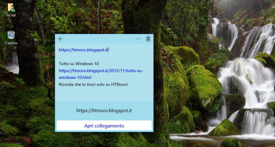 Sticky Notes in Windows 10 si aggiorna e riceve nuove funzionalità 3 HTNovo