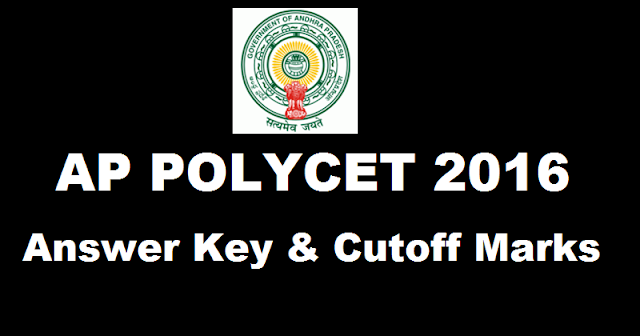 AP- POLYCET- Answer -Key- 2016