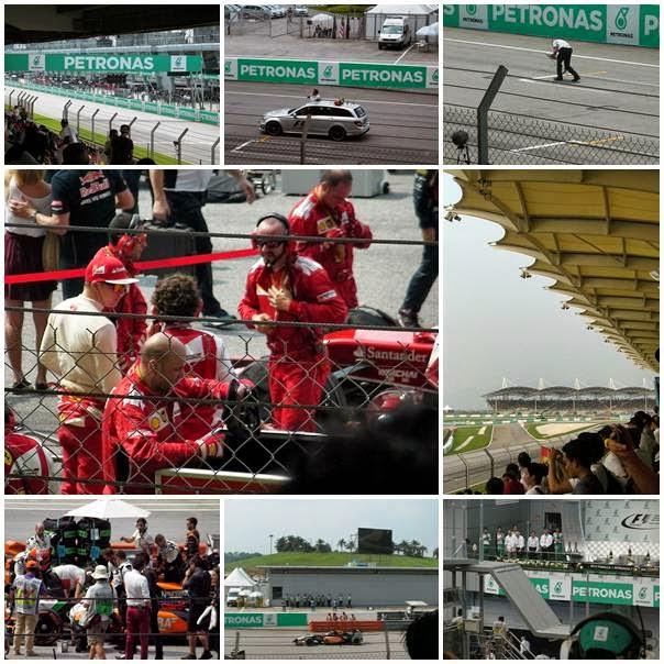 F1 Malaysia Grand Prix 2014 - I Saw Kimi Raikkonen!