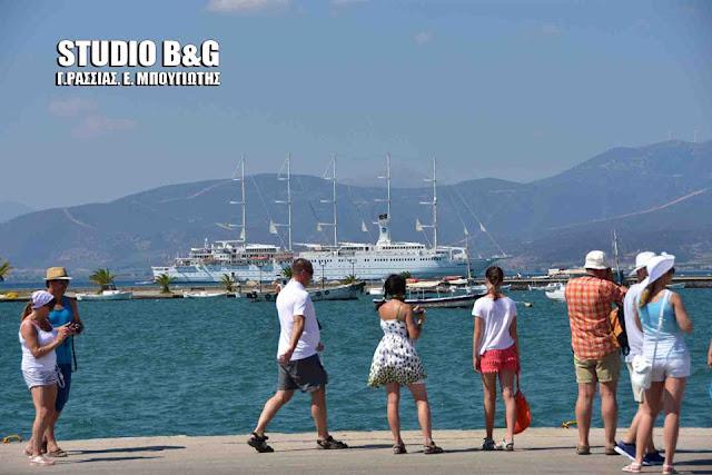 Στην δεκάδα των λιμανιών της χωράς το Ναύπλιο με αύξηση στους επιβάτες κρουαζιέρας για το 2018