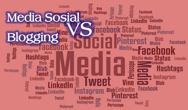 Lebih Baik Update Postingan Blog Dari Pada Update Status Media Sosial