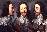 Van Dyke's triptych of Charles I.