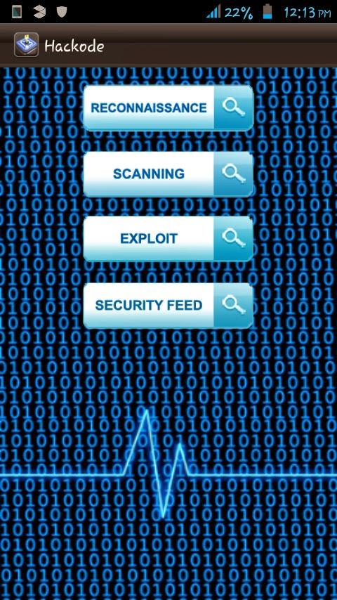 Hackode Android penetration tester - KaliTut