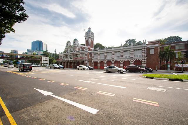 Singapore-Caserma dei Vigili del fuoco