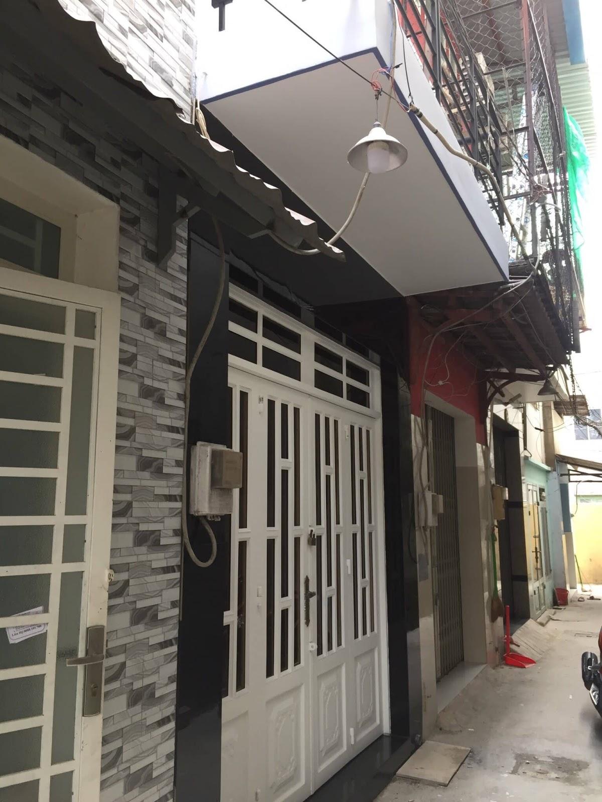 Bán nhà hẻm 23 Nguyễn Hữu Tiến phường Tây Thạnh quận Tân Phú. DT 3x8,72m