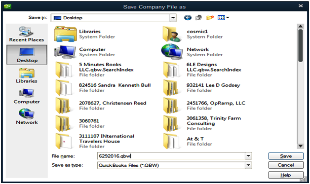 How to Restore Backup for Earlier Quick Books Version