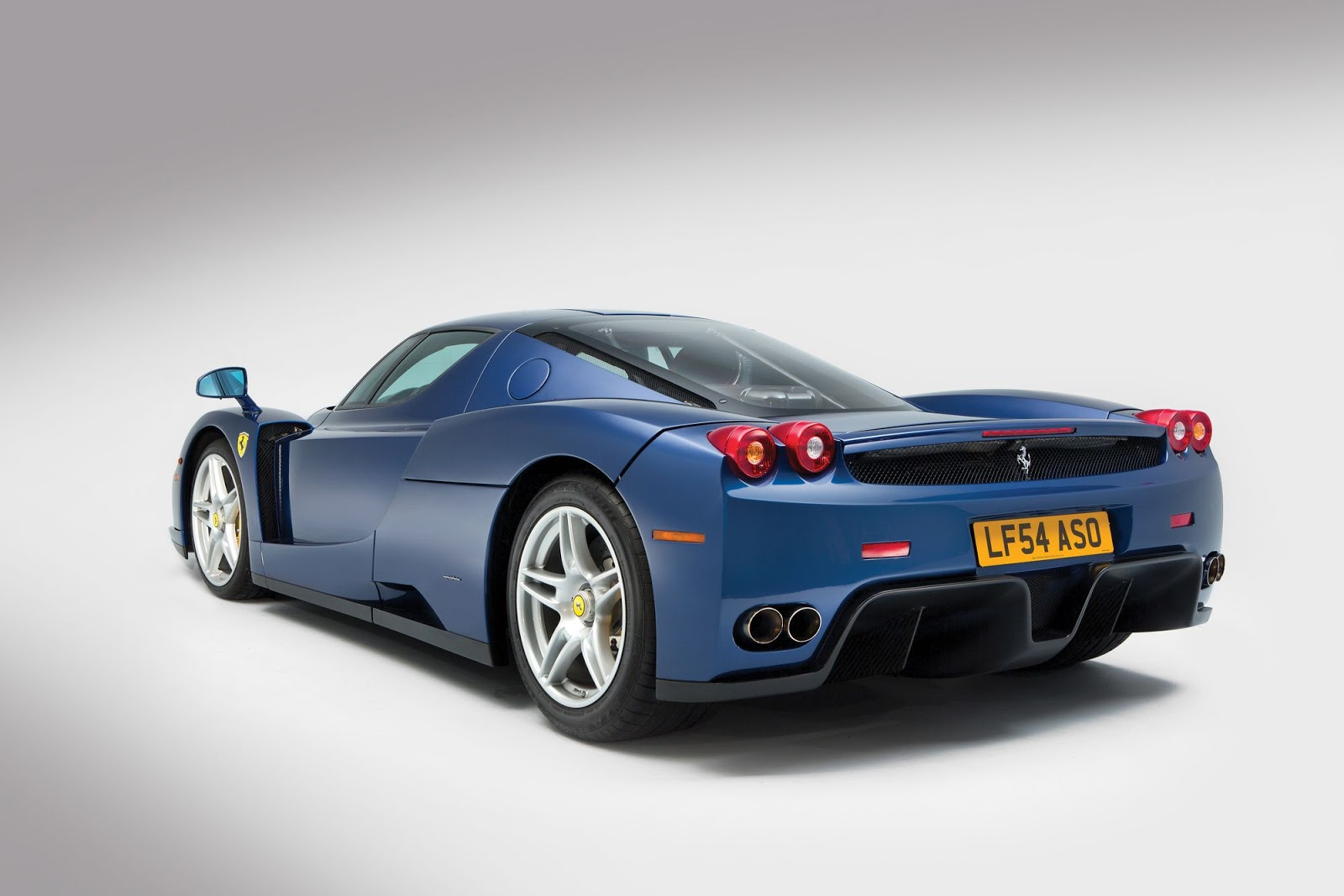 How Much Does It Cost To Paint A Car >> Rare Blu Tour de France Ferrari Enzo Bound For Auction | Carscoops