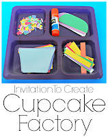 Cupcake Paper Craft For Kids