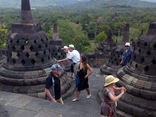 Data wisatawan asing ke Indonesia 2018