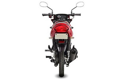 Yamaha Saluto 125 rear view image