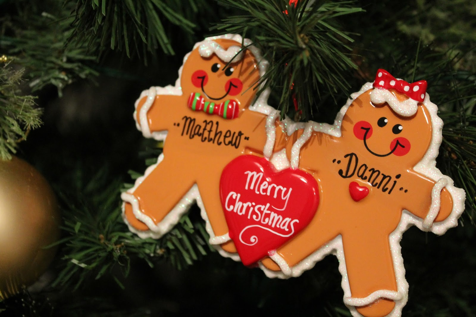 Christmas House Decorations - Gingerbread Personalised