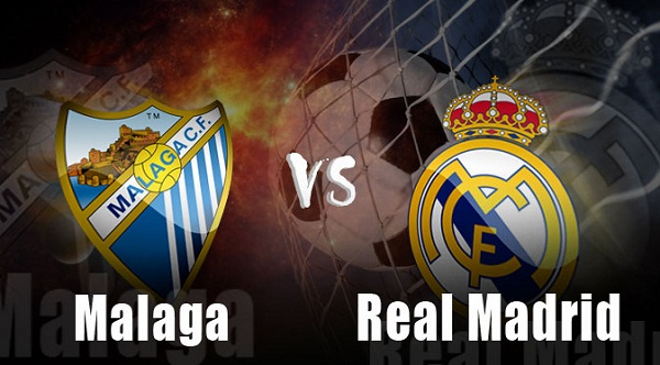 Ilustrasi Malaga vs Real Madrid
