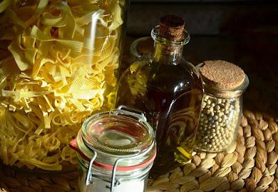 ingredientes para Receta de cocina de Jurel a la Mediterránea paso a paso
