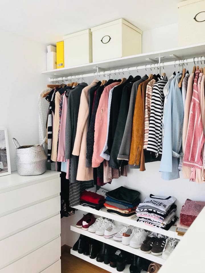 How To Make A Low Cost Closet Cómo Hacer Un Closet Low Cost