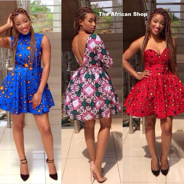 Photos of Beautiful Short Ankara Gowns for Nigerian Ladies Outing ...