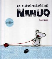 """Mascaró de proa: """"El llarg viatge de Nanuq"""", un excel·lent àlbum de Toni  Cabo"""