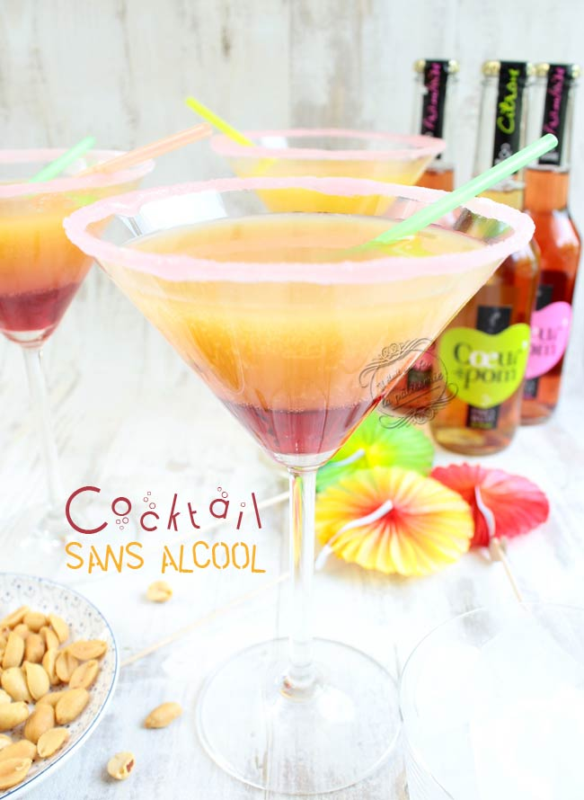cocktail sans alcool rapide