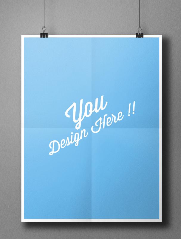 Poster Mockup File CDR 1