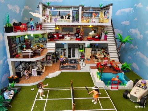 PISCINA DE LUJO #PLAYMOBIL PLAYMOBIL Pinterest Playmobil, Toy - jeux de construction de maison en d