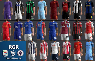 Kitpack Season 16/17 V.1 by RGR Serie A VS Premier League