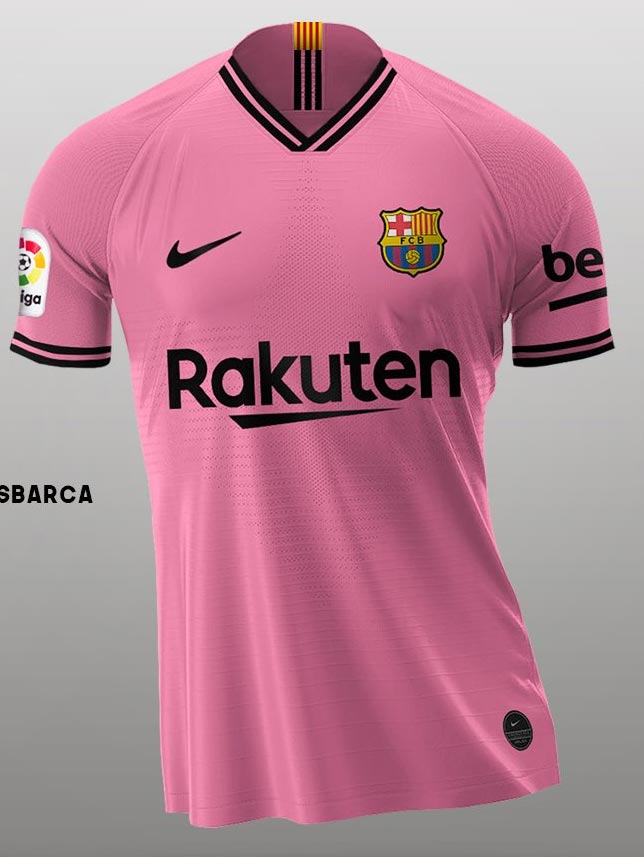 Based On Leaked Info How The Nike Fc Barcelona 20 21 Home Away Third Kits Could Look Like Footy Headlines
