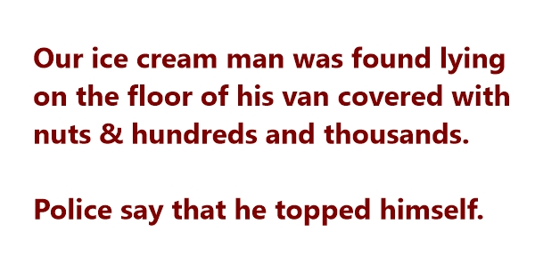 funny ice cream jokes