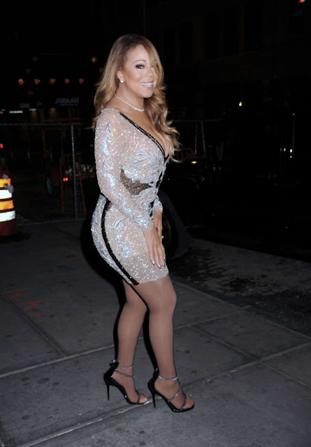 Mariah Carey – Arrives to Mariah's World on E! Launch Party in New York