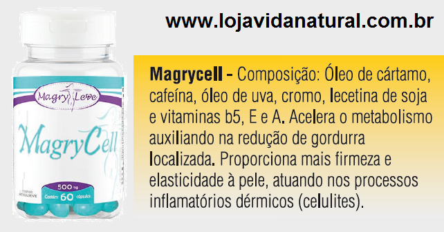Magry Cell 60 Cápsulas 500mg Magry Leve