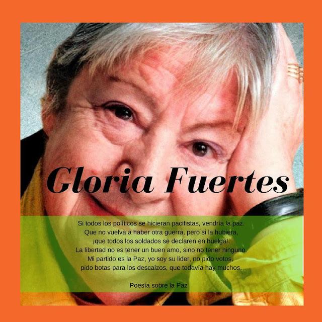 100 años con Gloria Fuertes.